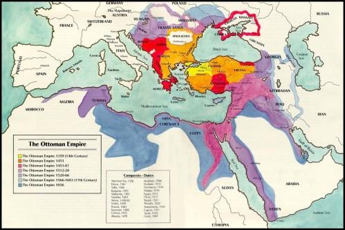 الإمبراطوريّة العثمانيّة في أوج اتساعها