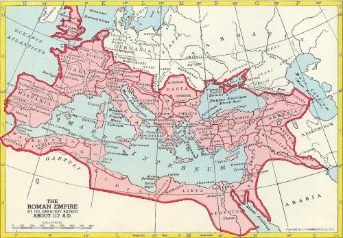 الإمبراطوريّة الرومانيّة في اوج اتساعها